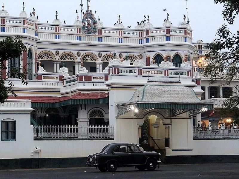 Palais de la région du Chettinad