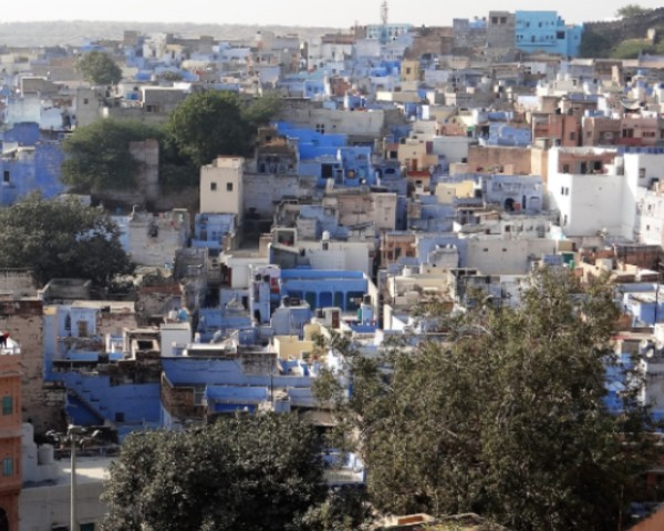 Rajastahn Jodhpur quartier de maisons bleues à Jodhpur