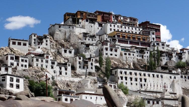 Ladakh monastère de Tiksey au Ladakh