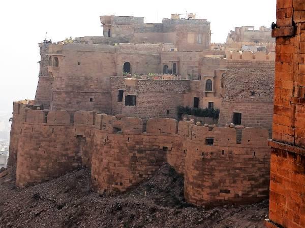 Inde Jaisalmer bastion habité