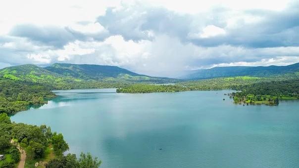 Inde Kérala un lac