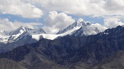 Ladakh haute montagne enneigée